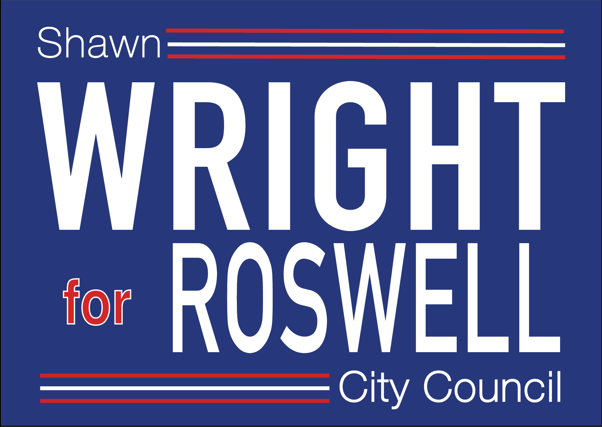 Shawn Wright for Roswell City Council